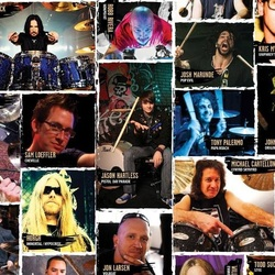Pearl Drums catalog with Jason featured